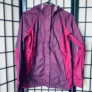 Mountain Hardwear dry Q elite rain jacket sz S